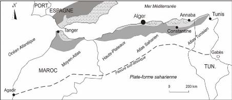 Carte Geologique De Lalgerie Du Nord.Memoire Online Biostratigraphie Et Paleoenvironnement Du