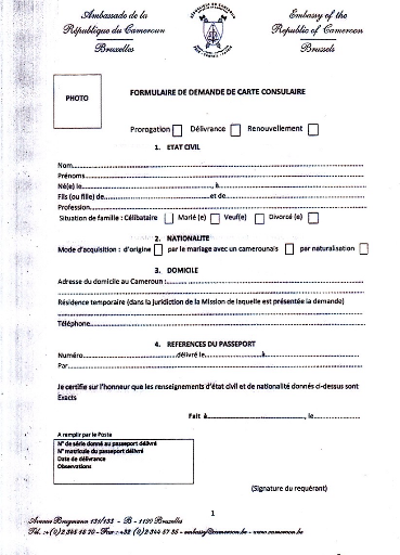 Memoire Online L Encadrement Des Ressortissants Camerounais Par L