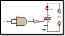 Memoire online circuit de commande de red marrage d 39 un for Porte logique and cmos