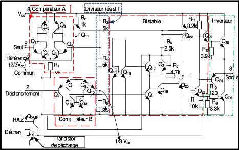 Memoire online circuit de commande de red marrage d 39 un for Bascule transistor