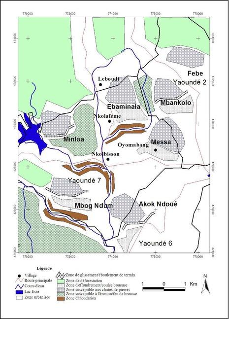 ... environnementaux sur les collines de Yaoundé - Dieudonné FEKOUA