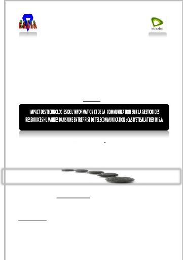 Memoire Online - Impact des technologies de l'information ... - photo#46