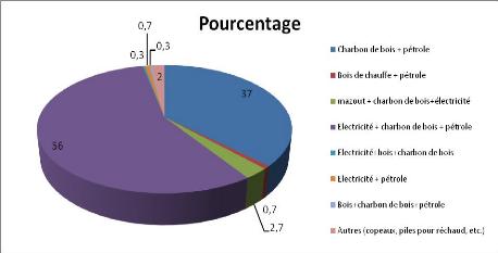 Memoire online evaluation de la consommation du bois nergie dans les m nag - Consommation moyenne electricite menage ...