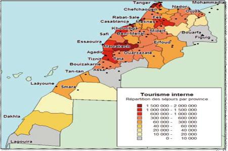 comment le maroc utilise le tourisme pour gagner de largent