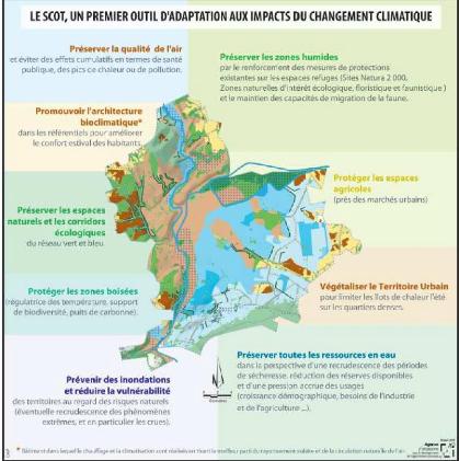 Memoire online adaptation au changement climatique for Les espaces verts urbains