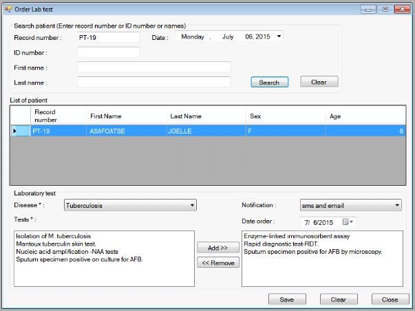 Memoire Online - Development of a computerized provider