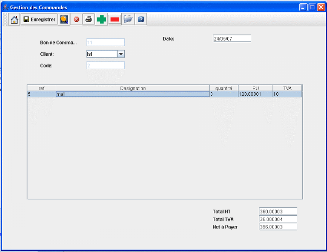 Memoire online conception et developpement d 39 un logiciel for Fenetre de commande