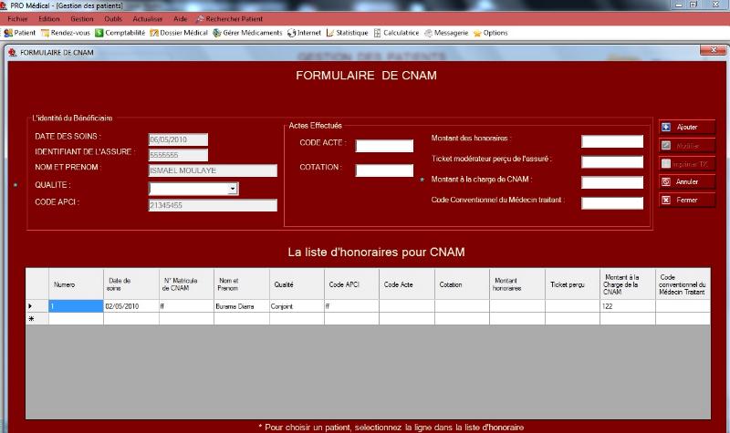 Memoire Online Gestion D Un Cabinet Medical Mise En Place D Un