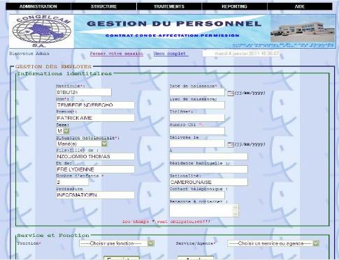 Memoire Online Conception Et Réalisation Dune Application De