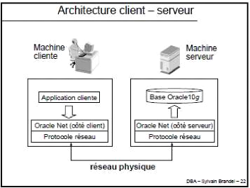 Memoire online bases de donn es r parties sous oracle for Architecture client serveur