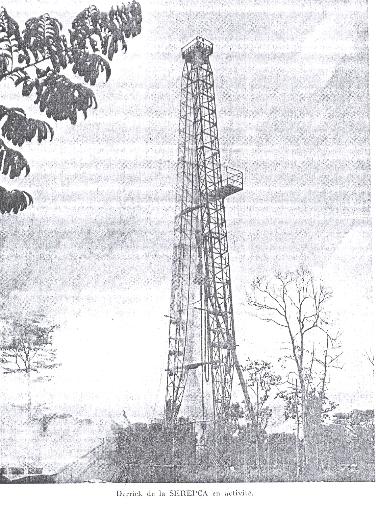 Avec le décret du 2 février 1957 la serepca bénéficiait alors dun permis couvrant 9 000km² soit lensemble du bassin sédimentaire de douala