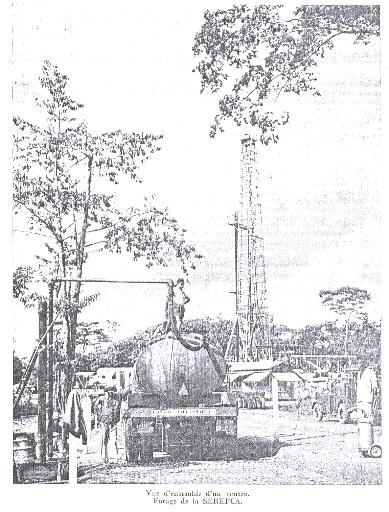 Ainsi les travaux de forages en 1954 sétaient limités à bomono et à souellaba à 30 kilomètres au sud ouest de douala où lon rencontre de nombreux