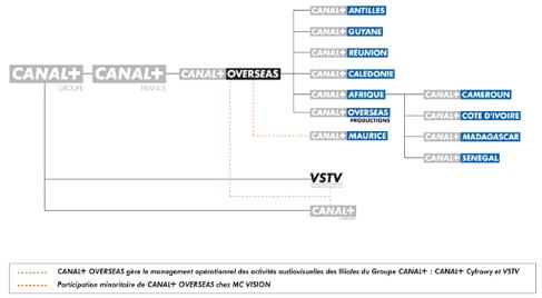 Impact de la politique marketing Canalsat a Brazzaville
