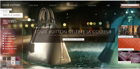 55296777e3fa Memoire Online - Le web peut-il restranscrire l univers du luxe ...