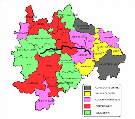 Villes De L Ouest Lyonnais
