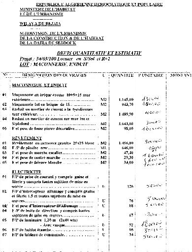 Memoire Online R Alisation D 39 Un Projet De Construction