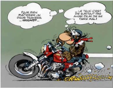 Rallye moto de la Sarthe : retour en vidos avec Franck