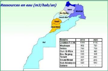 bassin d'eau maroc