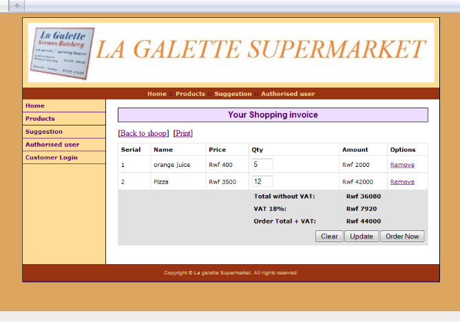 Memoire Online Online Ordering And Inventory System