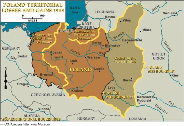 Carte Allemagne Apres Guerre.Memoire Online Les Deplaces Allemands Apres La Seconde Guerre