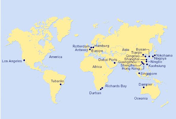 Memoire online march mondial des ol agineux med assad allah matallah - Les plus grand port du monde ...