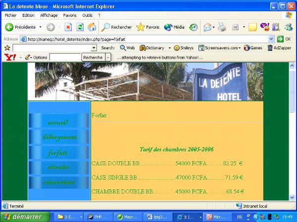 Installation electrique batiment cours pdf merise for Site de reservation hotel gratuit