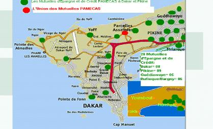 Memoire Online Les Déterminants Du Choix Du Lieu Dimplantation - Pikine map