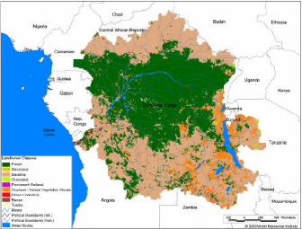 Map 31 Texas River Basins.Memoire Online Hydrological Modeling Of The Congo River Basin
