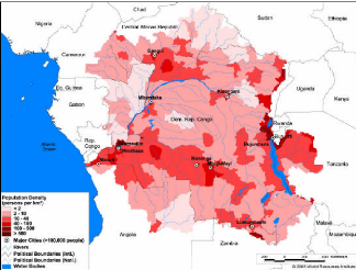 Memoire Online Hydrological Modeling Of The Congo River Basin - World map congo river