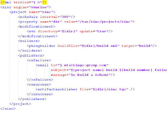 structure d une application web