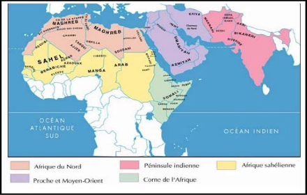 tunise carte du monde-