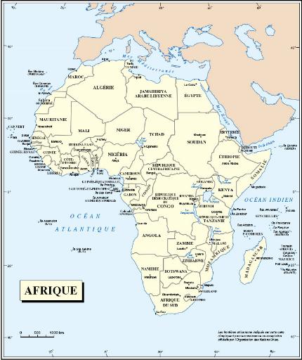 Carte De Lafrique Hydrographie.Memoire Online Les Conflits Armes En Afrique Subsaharienne