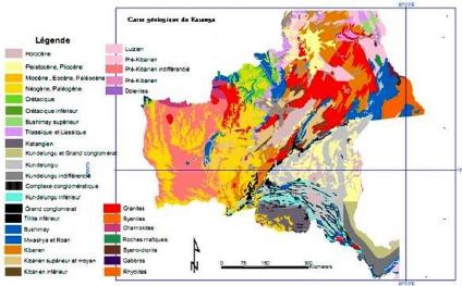 Carte Geologique Afrique Du Sud.Memoire Online A Tude Geologique Du Gisement De Shangulowe