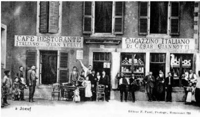Memoire online r le des langues dans la construction de for Chambre de commerce italienne marseille
