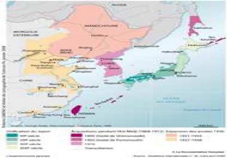 Carte Orient Extreme Carte N°1 L'extrême-orient