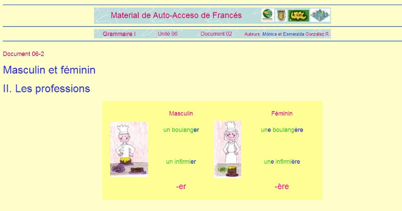 virtual francés