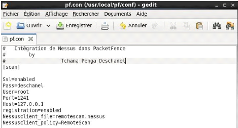 Memoire Online - Network access control avec packetfence