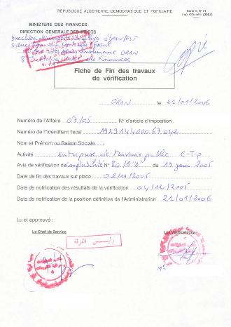 2011 TÉLÉCHARGER BAREME IRG ALGERIE