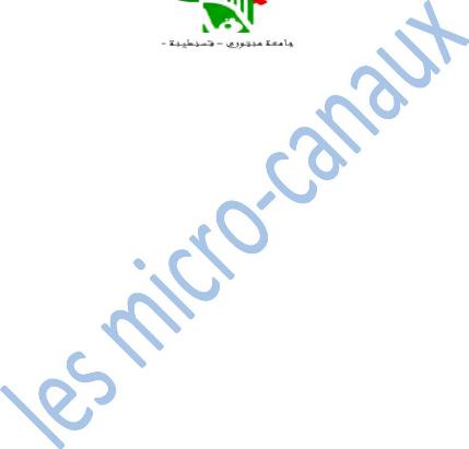 Simulation numérique du transfert thermique conjugué dans des micro-canaux