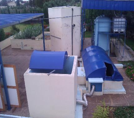 Traitement des eaux usees domestique parbiodenitrification : effet du