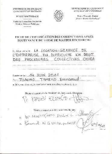 Modele Bail Location Gerance Document Online