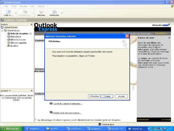 Memoire Online - Installation du serveur de messagerie HMAILSERVER