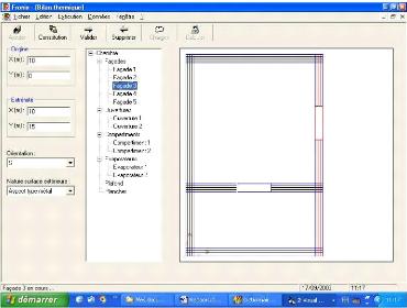 Memoire online d veloppement d 39 un logiciel d 39 expertise for Bilan thermique chambre froide gratuit