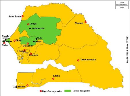 Rencontres des dynamiques regionales en information geographique
