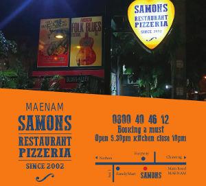 Samons - Restaurant pizzeria - Mae Nam
